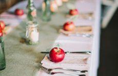 segnaposto mela